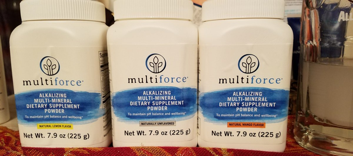 Balance your pH with Multiforce and Giveaway