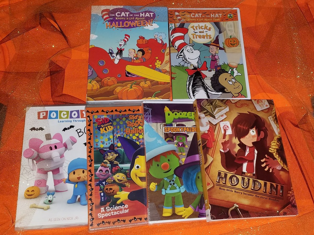 October Trick Or Treat with NCircle + DVD Giveaway