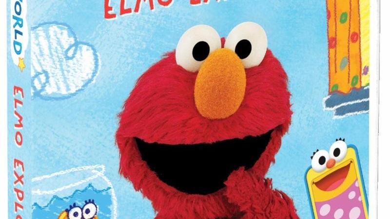 Sesame Street Elmo S World Elmo Explores Comes To Dvd